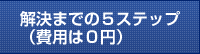 解決までの5ステップ(費用は0円)